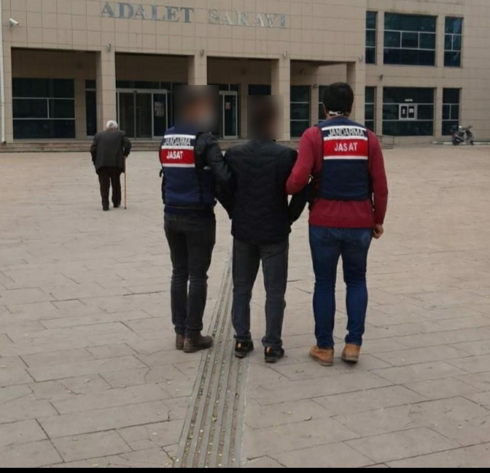 Nevşehir'de buğday hırsızı yakalandı