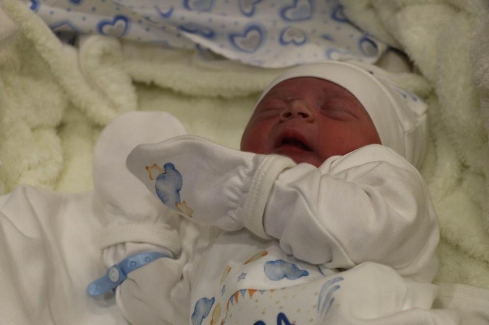 Nevşehir'de yeni yılın ilk bebeği dünyaya geldi