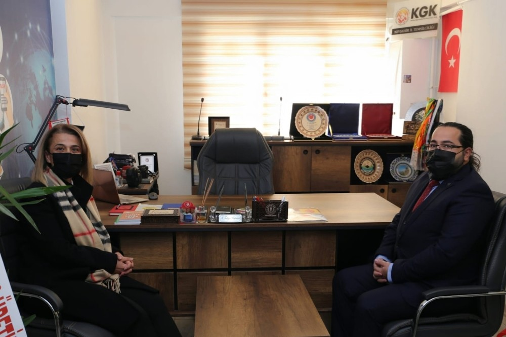 Vali Becel, Küresel Gazeteciler Konseyi'ni ziyaret etti
