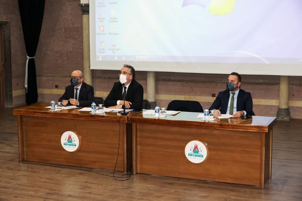 Nevşehir Belediye Meclisi Mart ayı toplantısı yapıldı