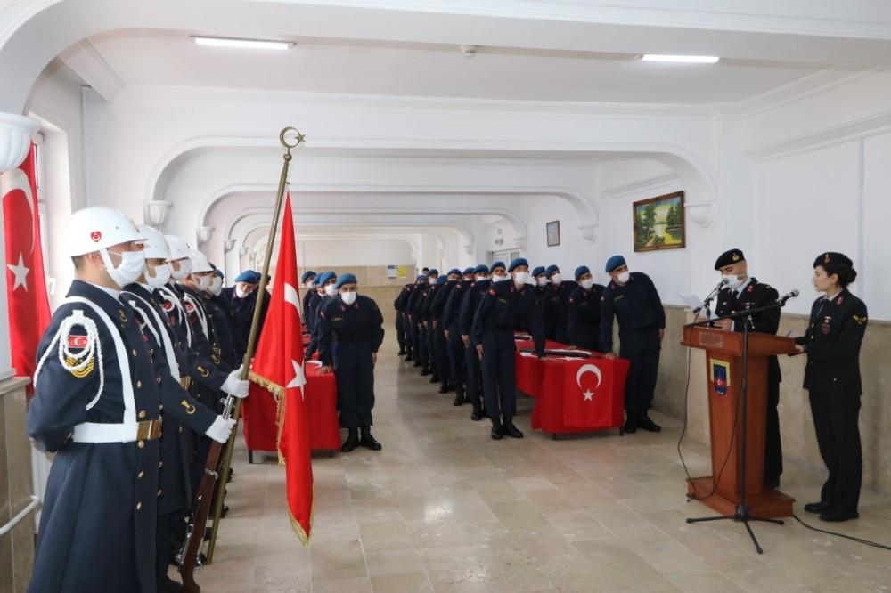 Nevşehir'de acemi erler yemin etti
