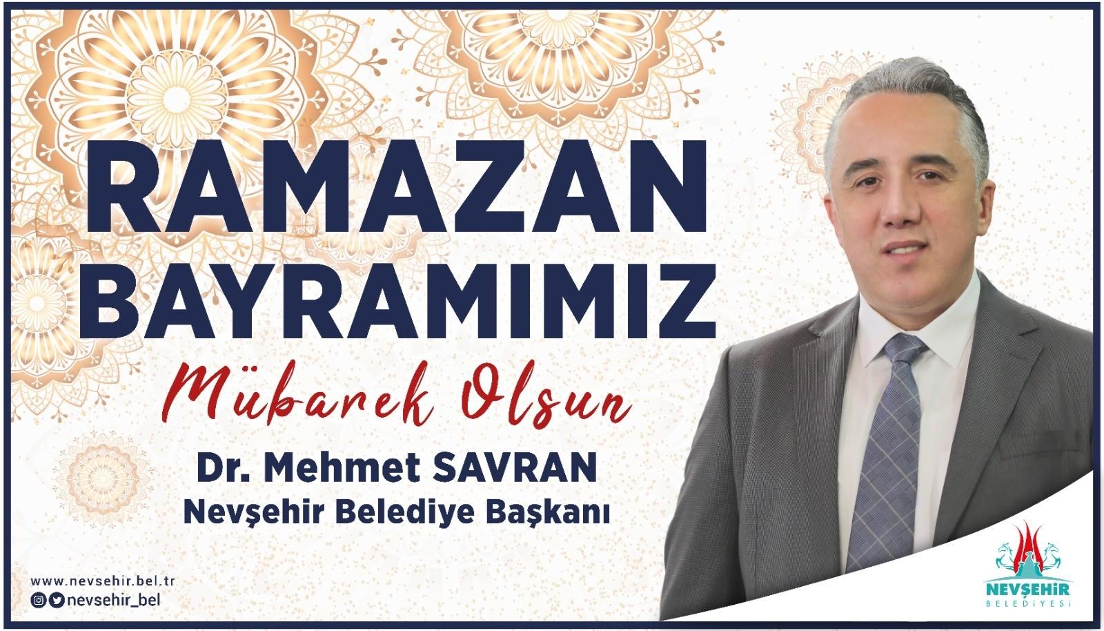 Belediye Başkanı Savran, Ramazan Bayramı mesajı yayımladı