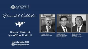 Kapadokya Üniversitesinde küresel havacılık için Kovid-19 konuşuldu