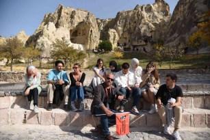 Erasmus Days öğrencileri Kapadokya'ya hayran kaldı