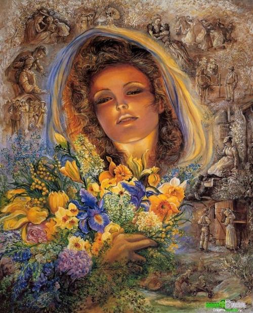 Картины Жозефины Уолл (Josephine Wall) (316 работ)