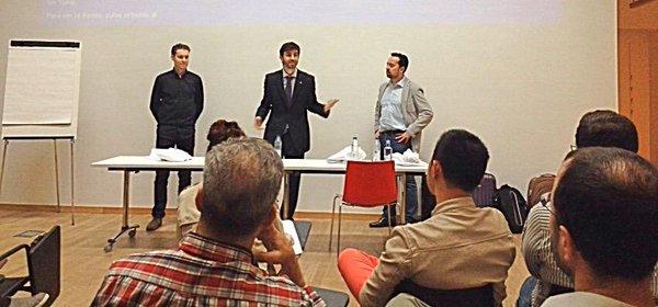 NevTrace impartiendo una sesión sobre los aspectos legales de blockchain y los smart contracts