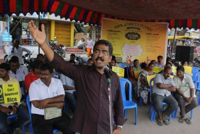 Meeting in support of the farmers