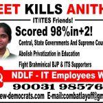 NEET Kills Anitha – Poster