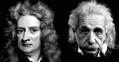Newton and Einstein