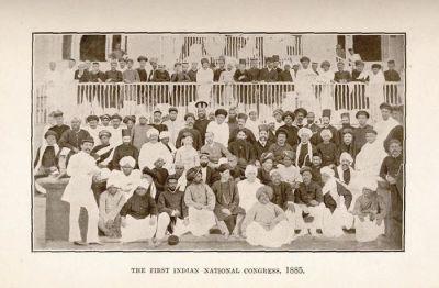 1885 - முதல் இந்திய தேசிய காங்கிரஸ்