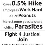 Capgemini 0.5% hike : Join NDLF, Fight for justice