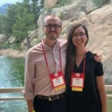 Andrew Stout and Natalie Rubio at the Reciprocal Meat Conference