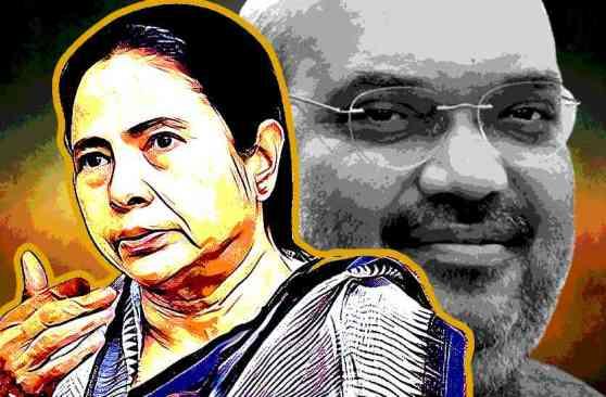 I Favour PM Narendra Modi Not Amit Shah Says Mamata Banerjee - मोदी से शिकायत नहीं, अमित शाह से है शिकवा: ममता बनर्जी | Patrika News