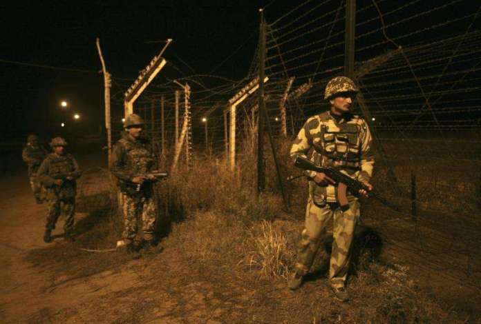 Indian army on border