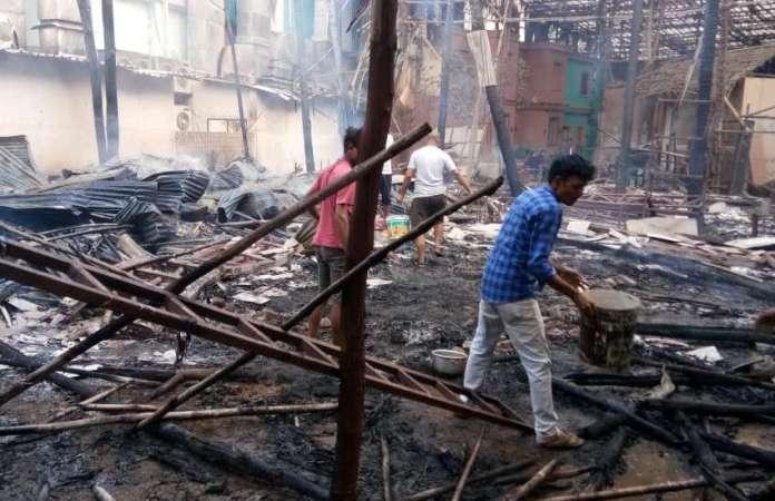 tv-show-srimad-bhagavad-sets-got-fire-property-damage