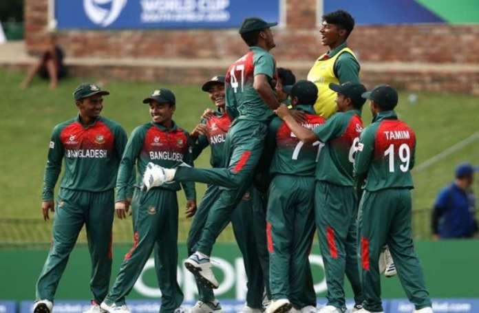 अंडर-19 वर्ल्ड कप: दक्षिण अफ्रीका को हराकर बांग्लादेश ने सेमीफाइनल में बनाई जगह