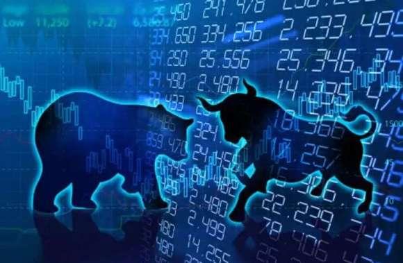 Corona virus causes stock market to fall again, Sensex drops to 300 points