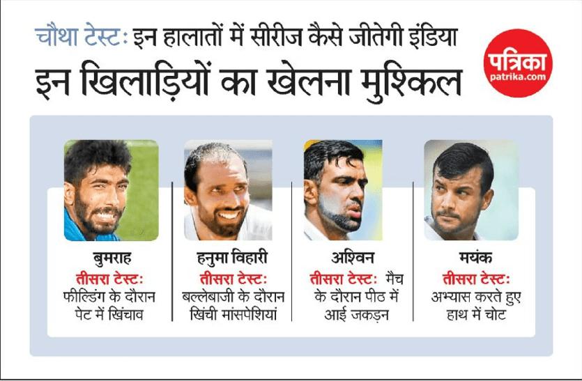 चोटों से जूझ रहे भारतीय क्रिकेट खिलाड़ी, टीम प्रबंधन की चिंता बढ़ी