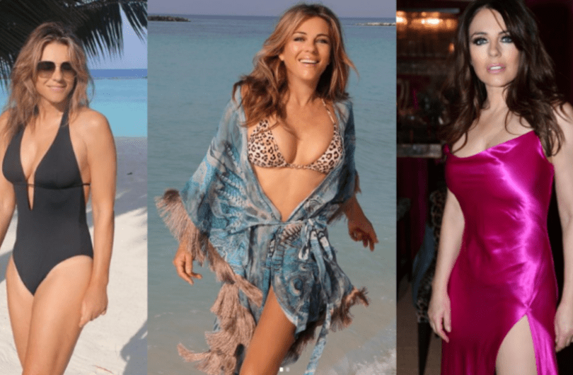 Why Do Liz Hurley Shares Swimwear Photos At Times