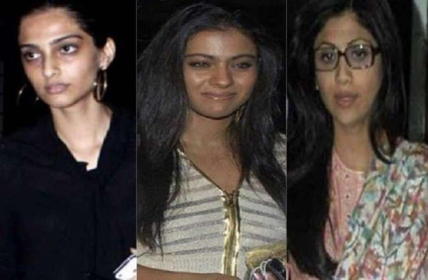 These Five Bollywood Actresses Looks Wired Without Makeup
