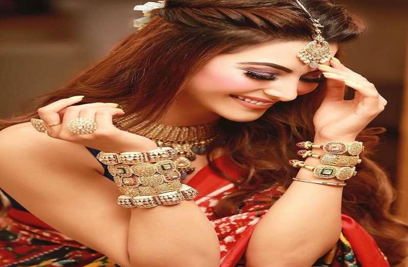 Urvashi Rautela Dresses Bride Look For Mehandi Ceremony