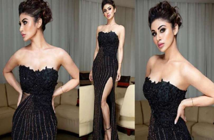 Mouni Roy added hotness to the black dress of 27 thousand, see photos
