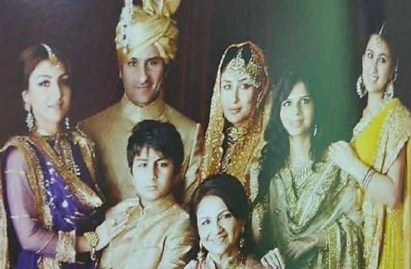 Ibrahim Ali Khan Looks Cute In Saif-Kareena Wedding