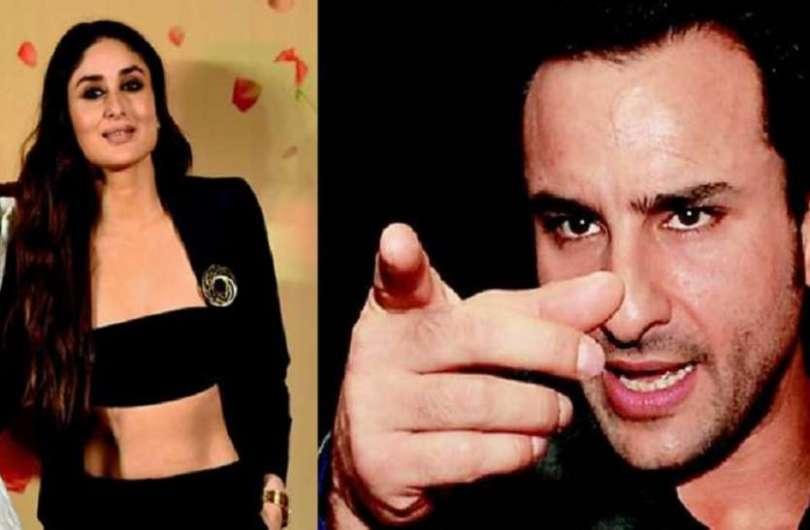 when saif ali khan got angry on kareena kapoor because of her dress