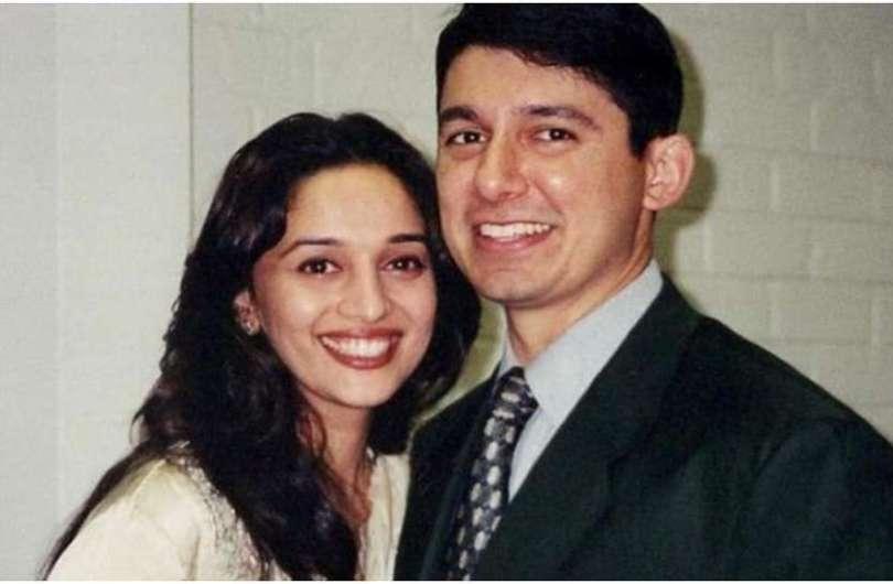 madhuri dixit first date experience with husband shriram nene