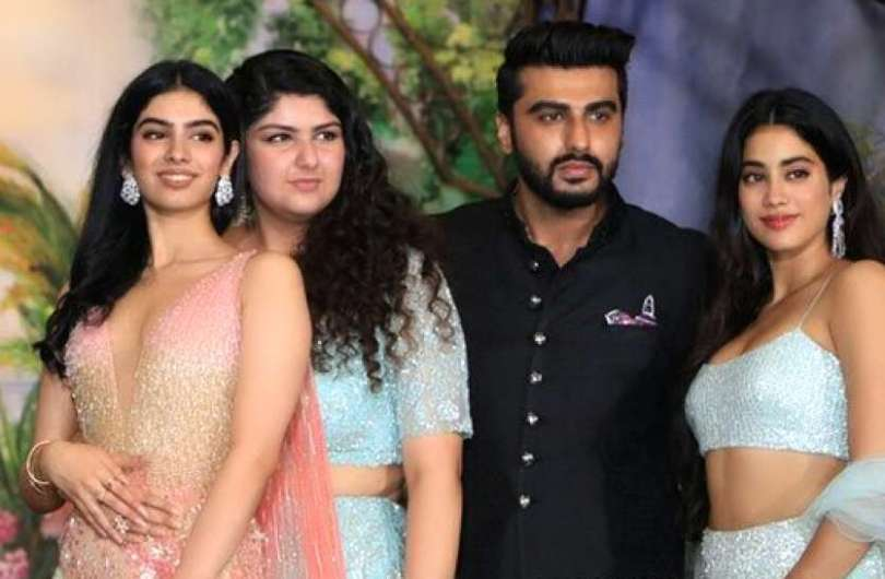 Arjun kapoor says about his relationship with janhvi and khushi kapoor
