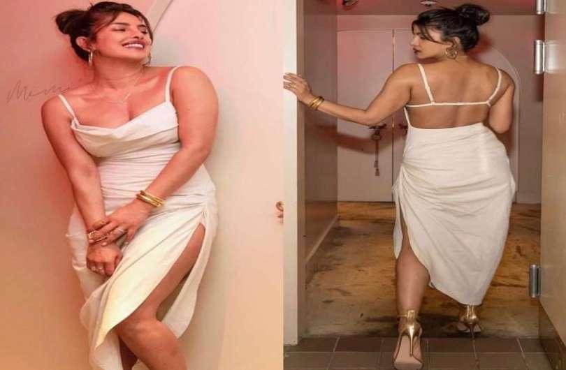 Priyanka Chopra stuns in white dress as she visits her restaurant Sona