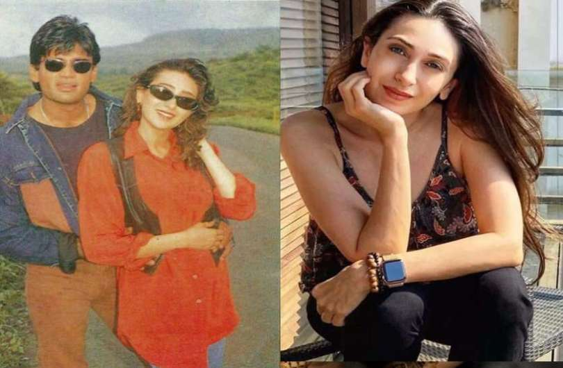 Karisma Kapoor made revelations about Suniel Shetty, used to do such acts on the sets of the film