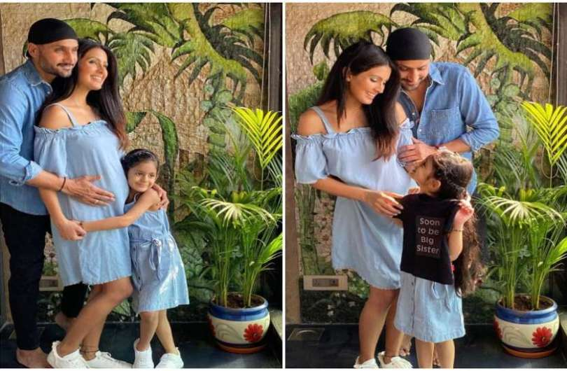 Harbhajan Singh was in the labor room with wife Geeta Basra at the time of the birth of the second child, gave this reaction on having a son