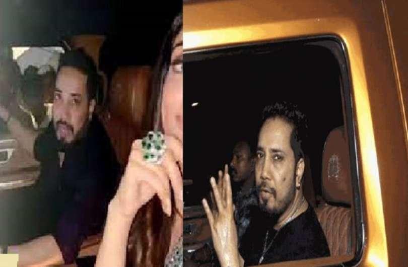 Mika Singh's car broke down at midnight due to heavy rains in Mumbai
