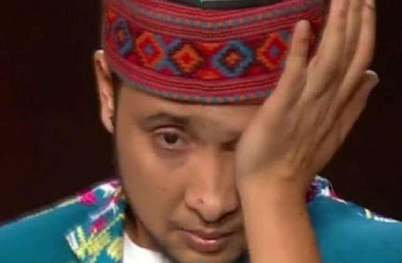 indian idol 12 Pawandeep Rajan mistake durin the performance