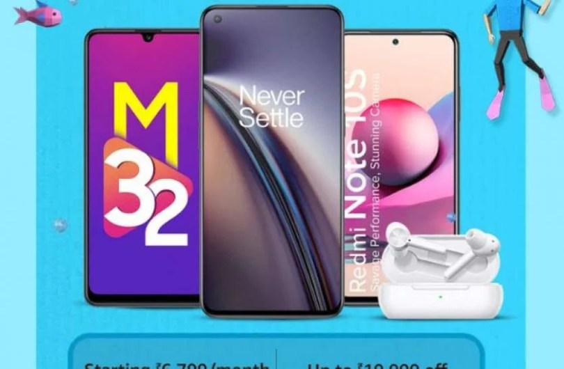 Amazing offers on major smartphones
