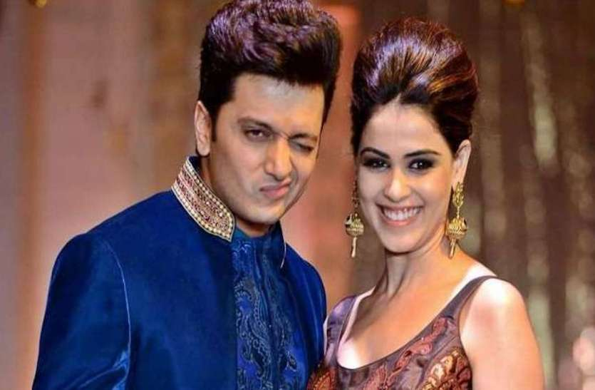 Riteish Deshmukh touched Genelia D'Souza's feet 8 times in marriage, know what was the reason behind it