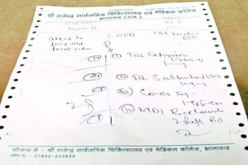 Why handwriting of doctors is so dirty
