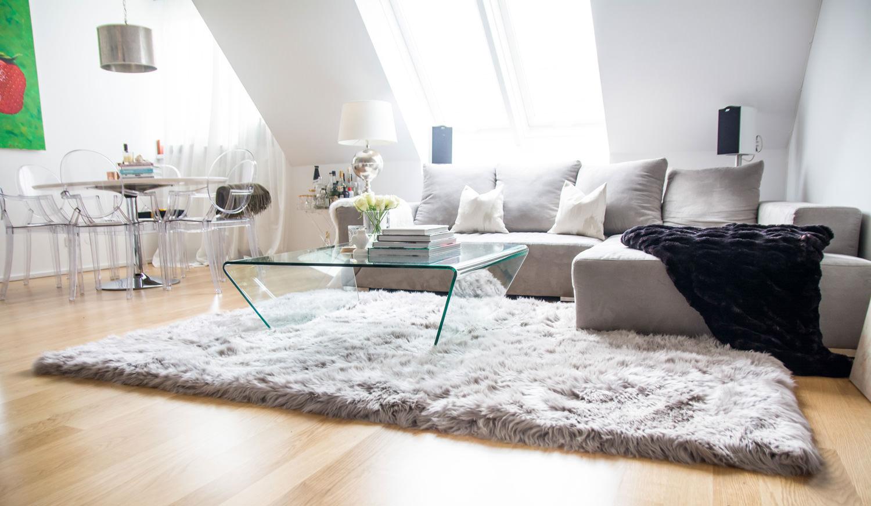 Wohnzimmer Teppich Haus Deko Ideen