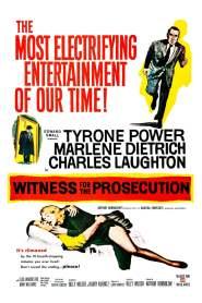 หักเหลี่ยมทนาย Witness for the Prosecution (1957)