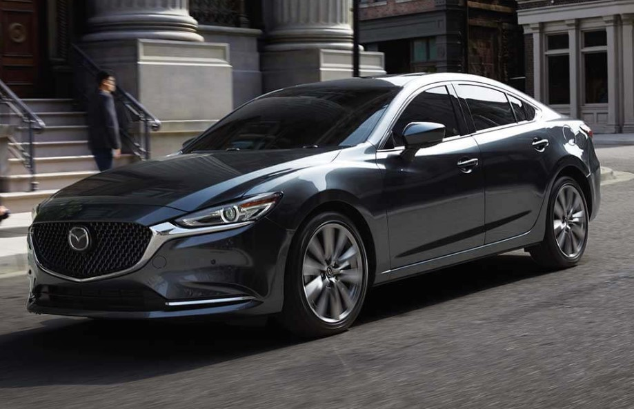 2020 Mazda 6 Powered with new engine