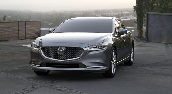 2020 Mazda 6 with new exterior