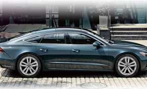 2021 Audi A7 with new exterior