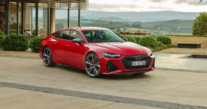 2021 Audi RS7 Sportback with new exterior
