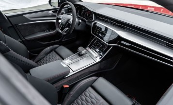 2021 Audi RS7 Sportback with new interior