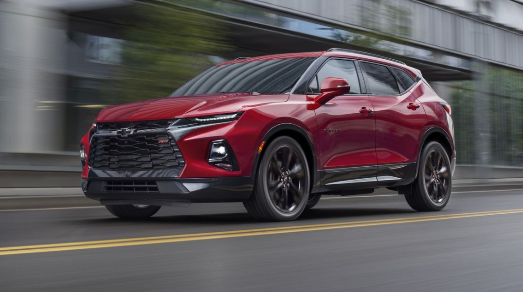 2021 Chevy Blazer has more power with its new engine