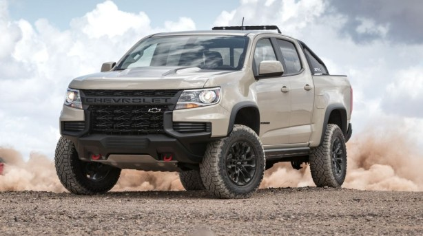 2021 Chevy Colorado new exterior design