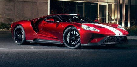 2021 Ford GT exterior styling