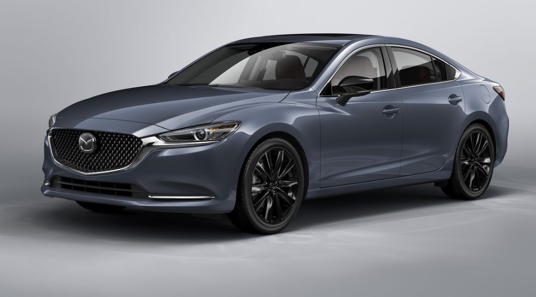 2021 Mazda 6 with new exterior