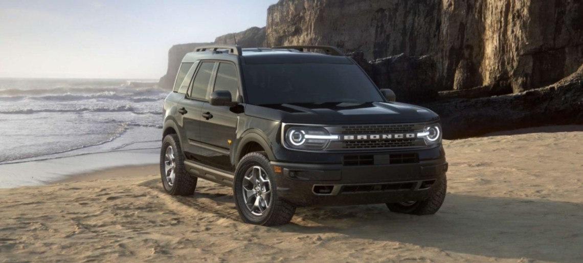 2021 Ford Bronco New Exterior